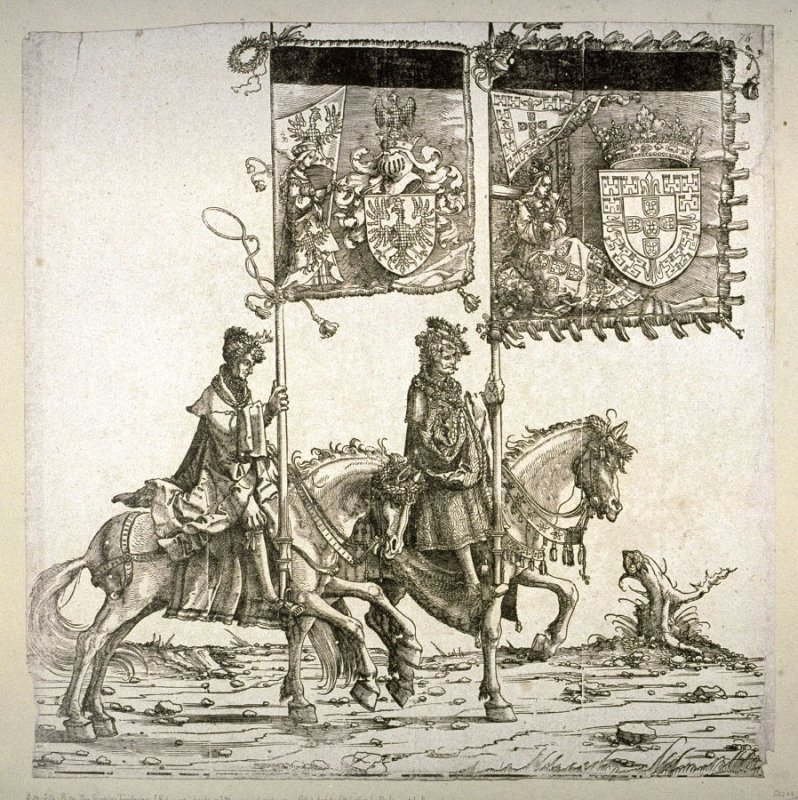 The Austrian Territories: Bohemian : Portugese Inheritence and Moravian; From the Triumph of Maximilian I