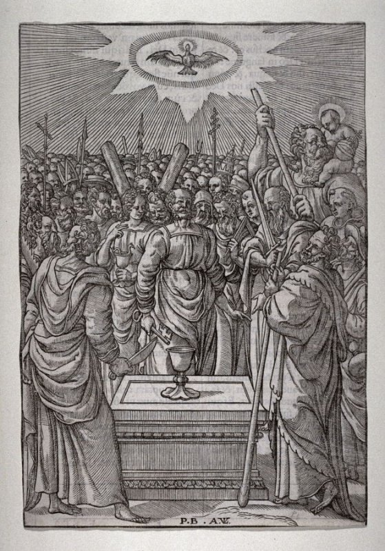 All Saints - Page from Liturgical Book