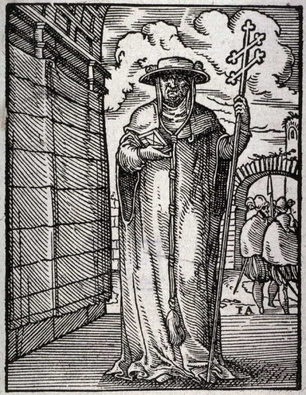 Cardinal, from the series of Professions and Trades