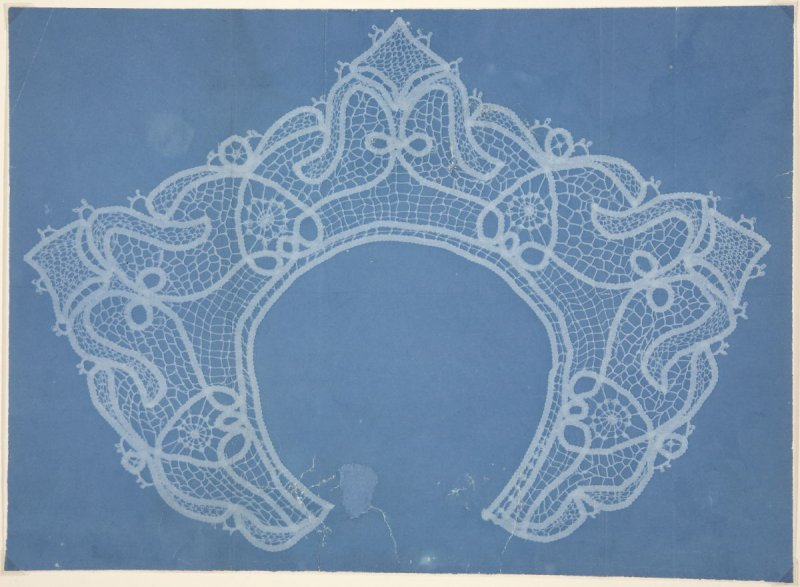 Untitled: Patterns in Blue (lace)