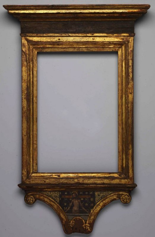 Painted Frame from Madonna and Child