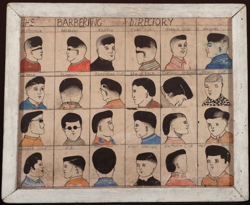 Barber board, The Barbering Directory