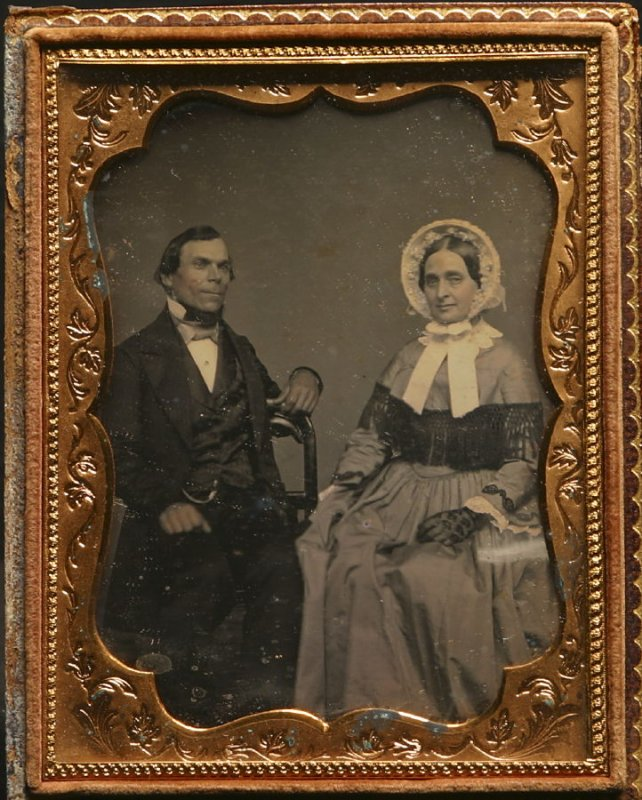Untitled (Gentleman and a lady)