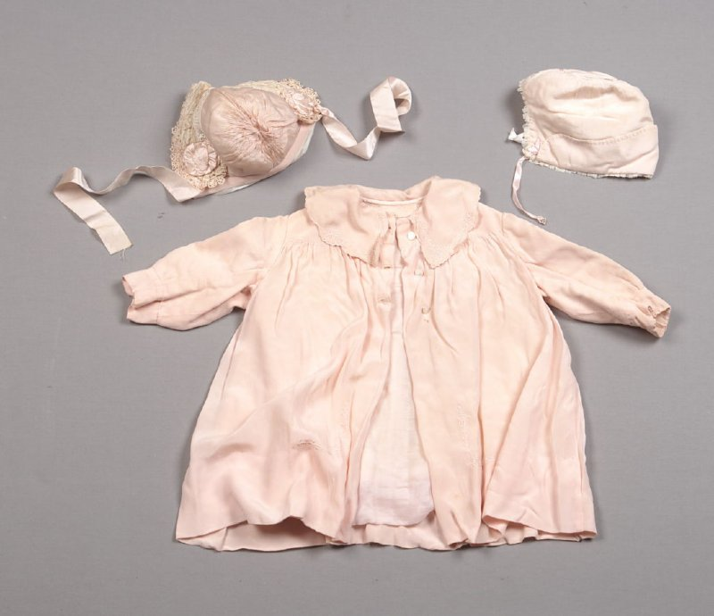 Child's Coat with Two Matching Bonnets