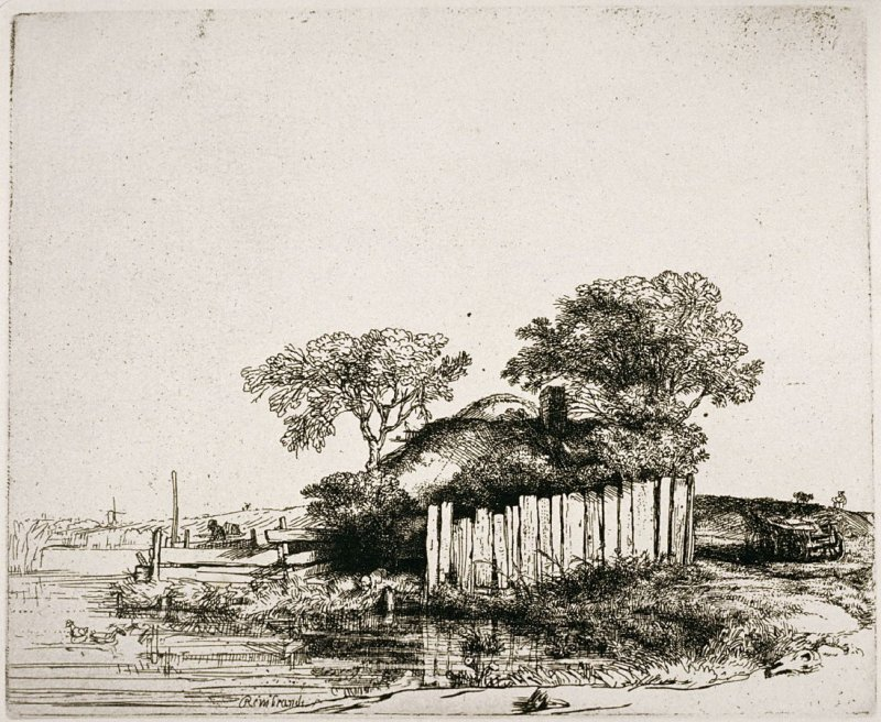 Cottage with the white palings (Copy)