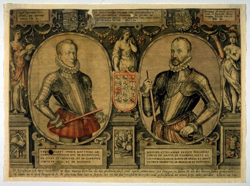 Double portrait of European Princes