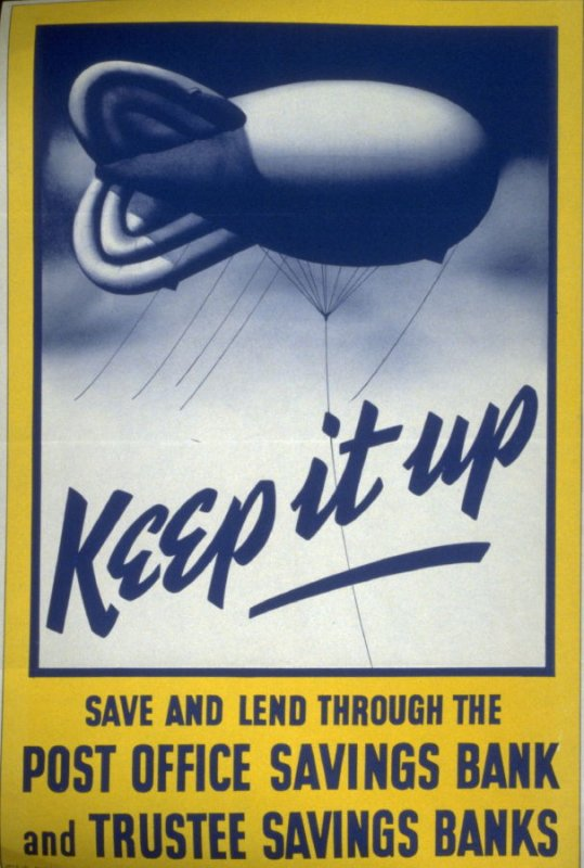 Keep it up - World War II Poster