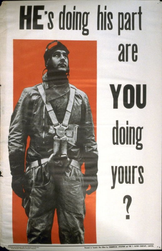 He's Doing His Part, Are You Doing Yours? - World War II Poster