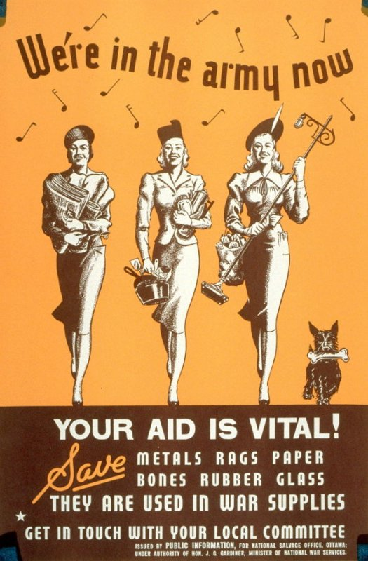 We're in the Army Now: Your Aid Is Vital!