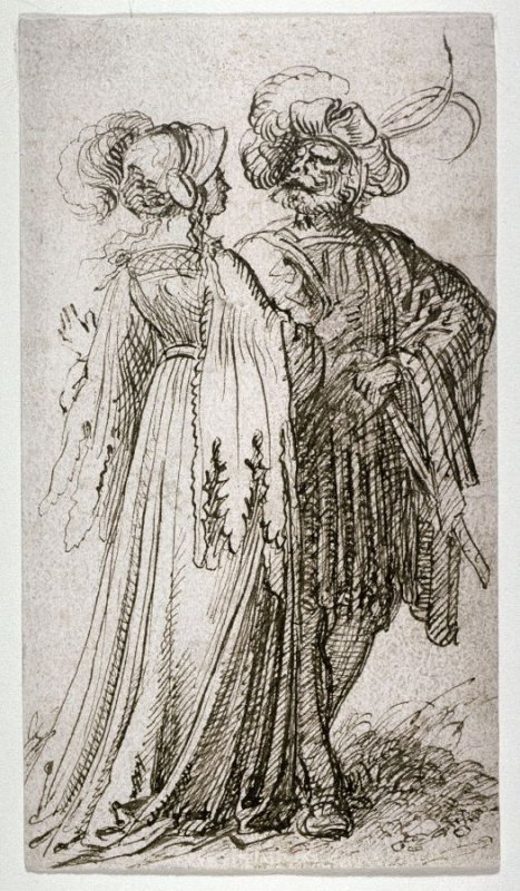 Courtly Couple