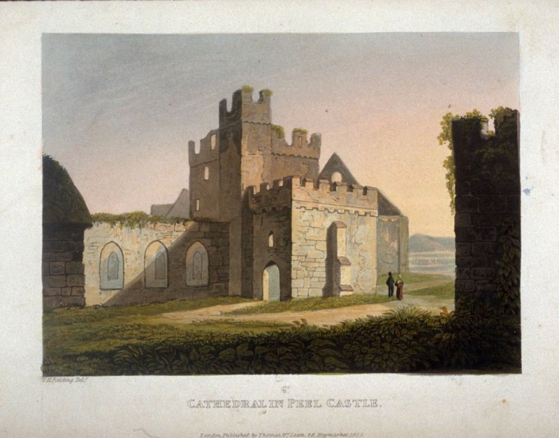 Cathedral in Peel Castle