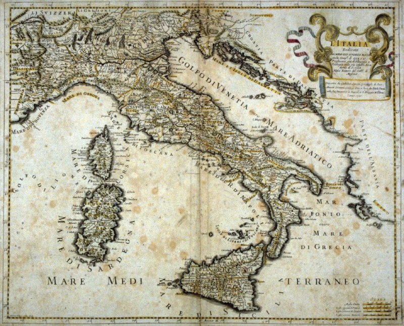 [Map of Italy]