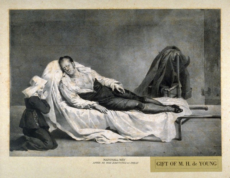 Marshall Ney after he was executed at Paris