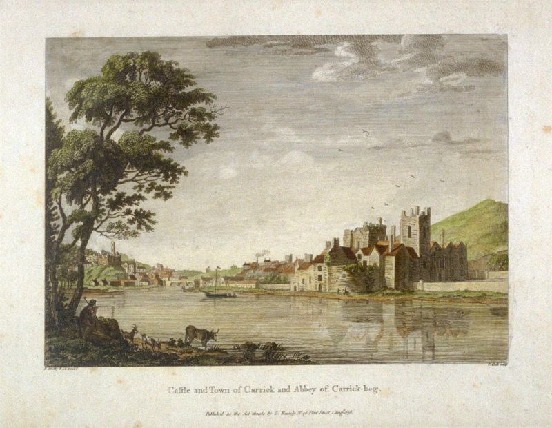 Castle and Town of Carrick and Abbey of Carrick