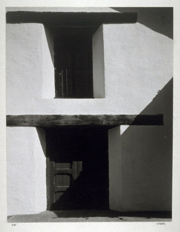 Untitled; View of sunlit doorway