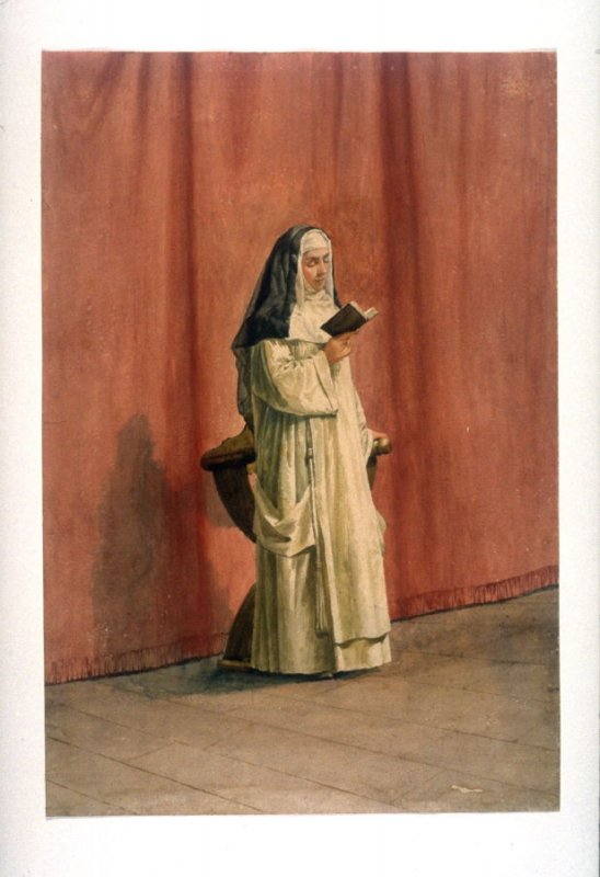 Nun with Prayer Book
