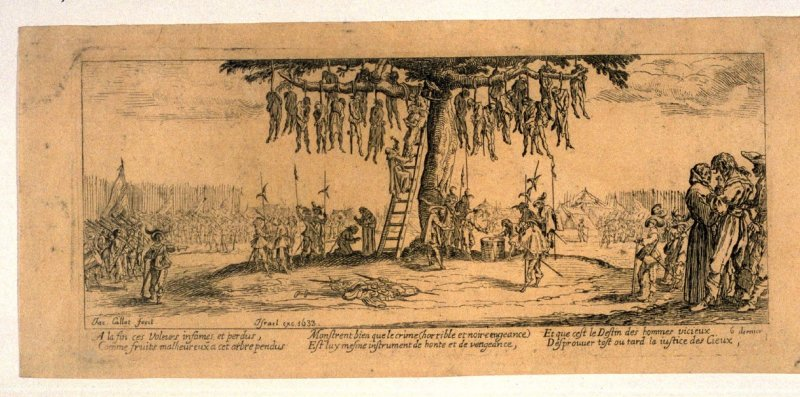 The Hanging, from Large Miniseries of War