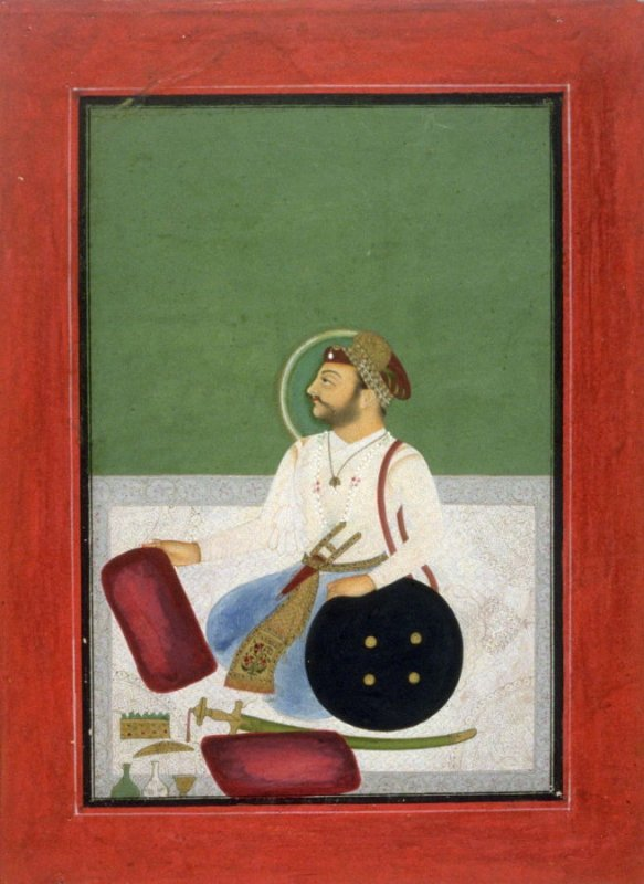 Portrait of a Prince, Seated on a Carpet