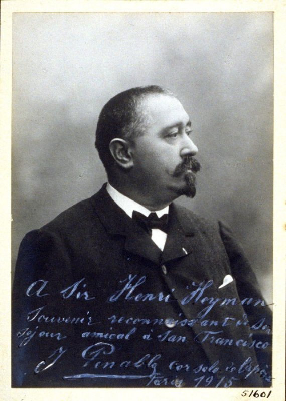 Jean Panable, horn player