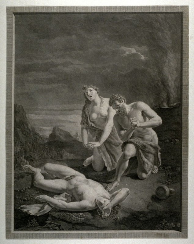 Adam and Eve Mourning over Abel