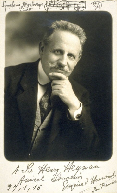 Eugene d'Harcourt, composer and critic