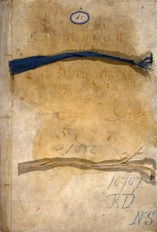 Bound Legal Document - parchment and paper