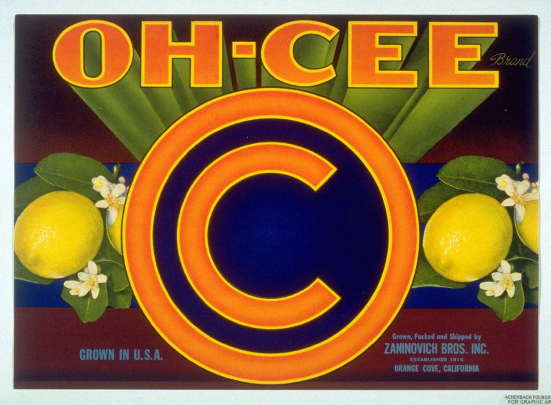 Oh-Cee, Zaninovich Bros. Inc, Orange Cove, California