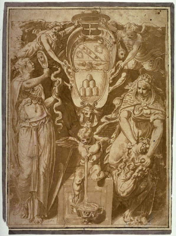 Coat of Arms of an Unidentified Cardinal