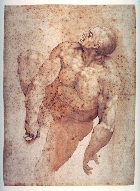 A Damned Soul (after Michelangelo's Last Judgment)