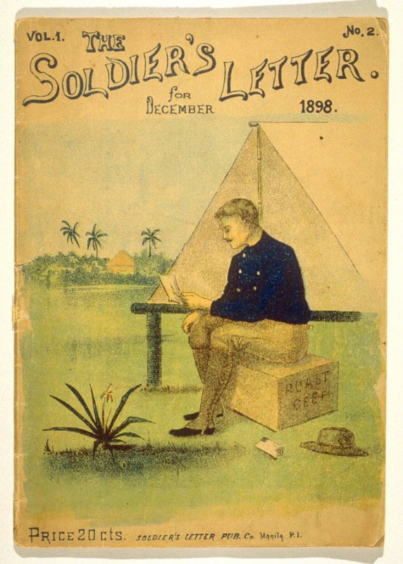 The Soldier's Letter - November 1898, Vol.1 No.2 (Magazine)