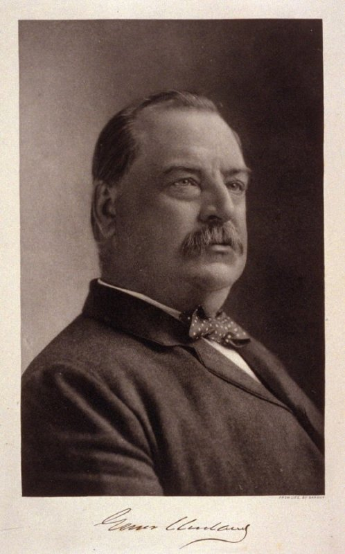 Portrait of Grover Cleveland - from the Portfolio Portraits of the Presidents (Twenty-five)