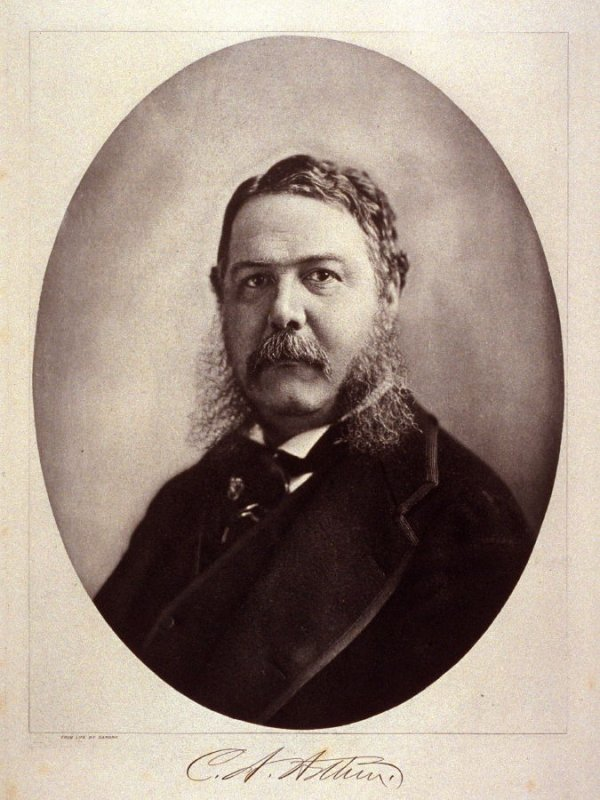 Portrait of Chester A. Arthur - from the Portfolio Portraits of the Presidents (Twenty-five)