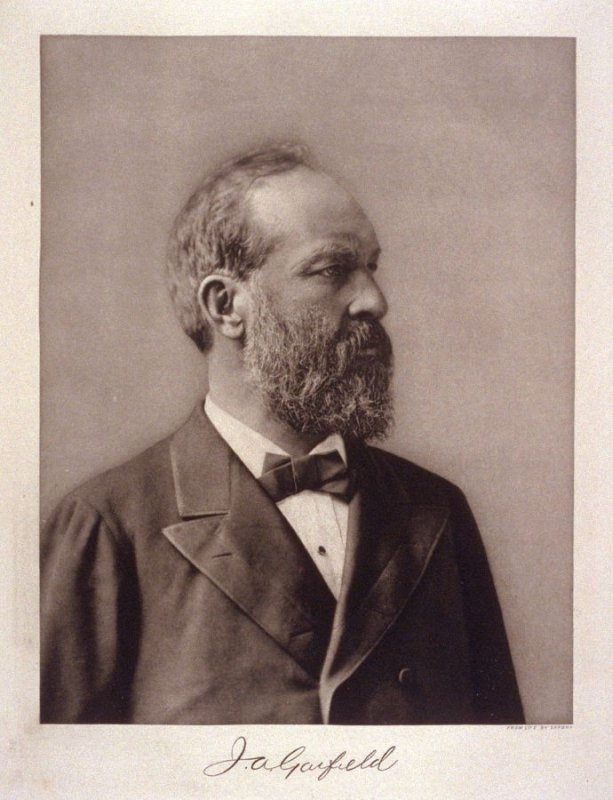 Portrait of James A. Garfield - from the Portfolio Portraits of the Presidents (Twenty-five)