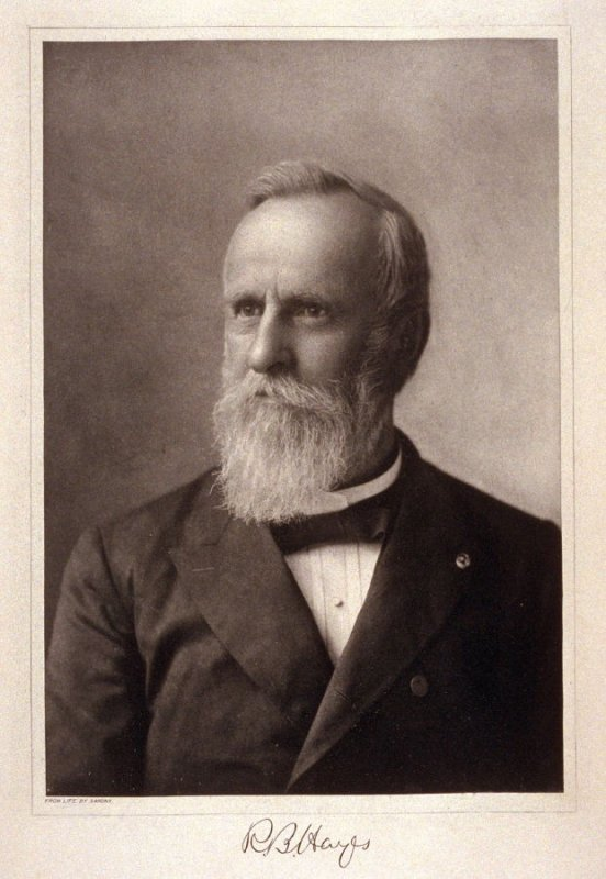 Portrait of Rutherford B. Hayes - from the Portfolio Portraits of the Presidents (Twenty-five)