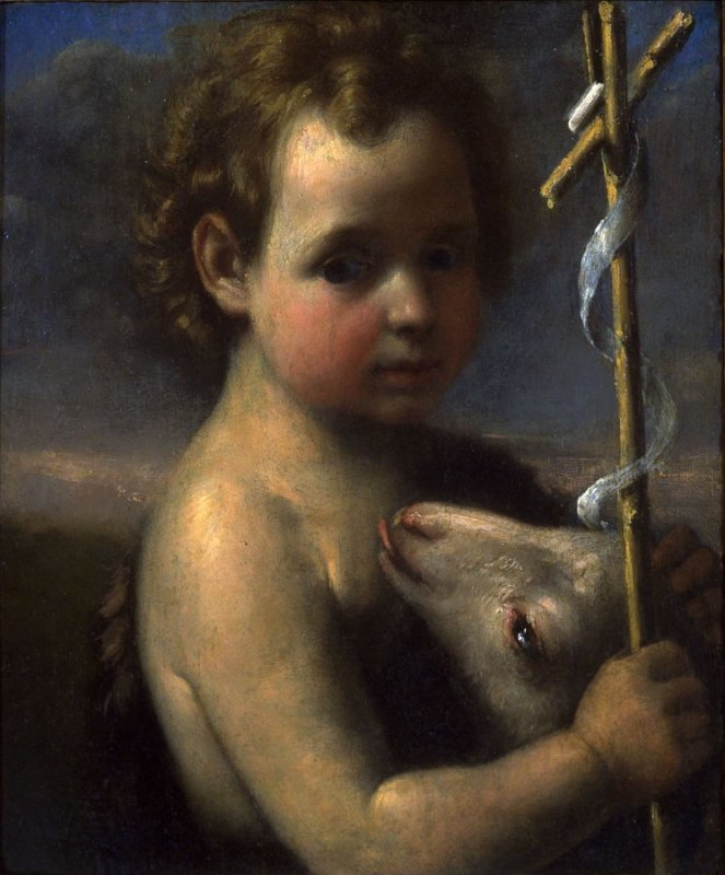 Young St. John the Baptist