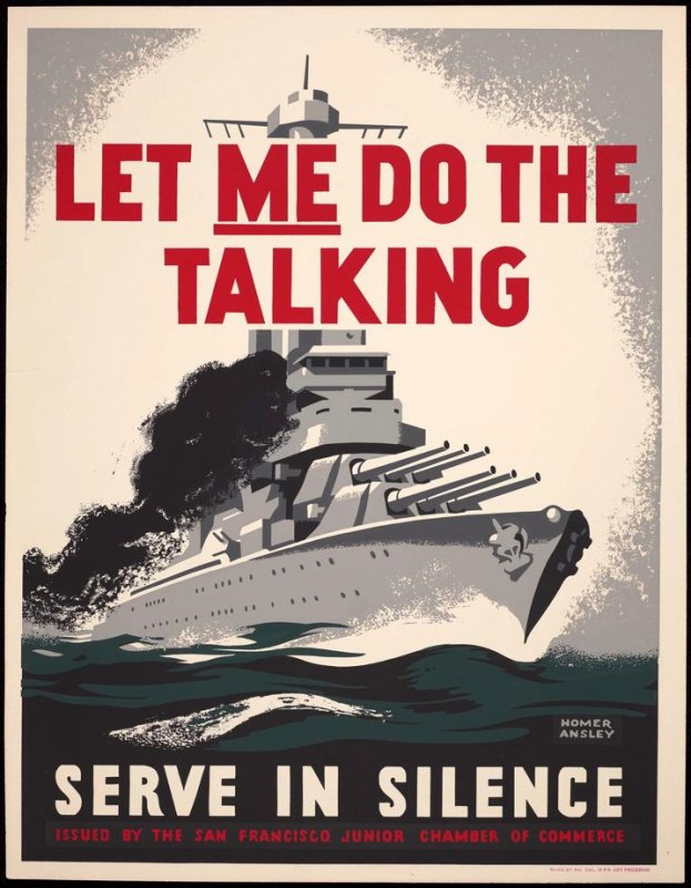Let ME Do the Talking! Serve in Silence