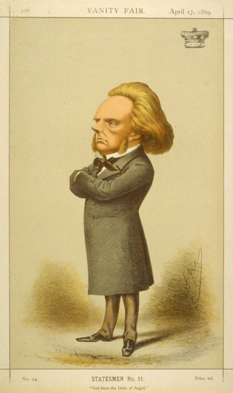 Statesmen No. 11 - The Duke of Argyll from Vanity Fair, April 17, 1869