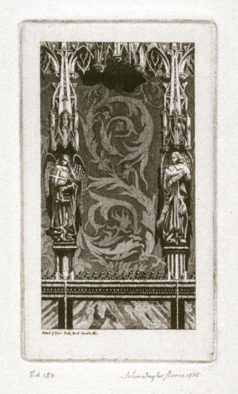 Jewelry: Choir Stalls of the Cathedral of St. Cecilia, Albi; also called The Reredos, St. Cecilia, Albi