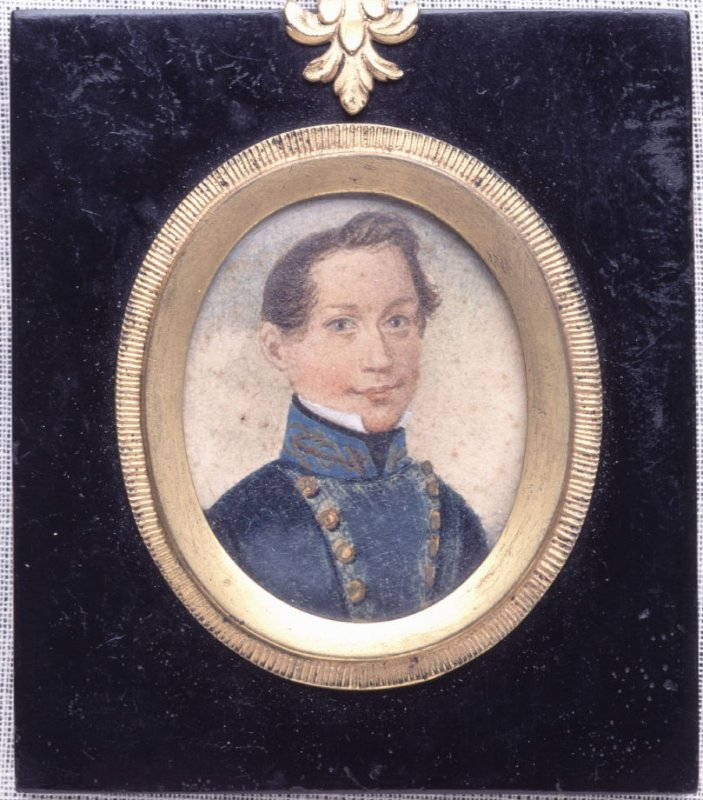 Portrait of a Boy - David G. Farragut
