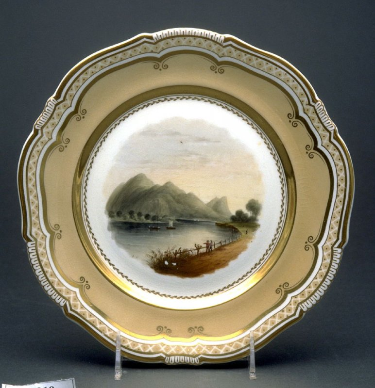 Plate (Mount Tom and the Connecticut River)