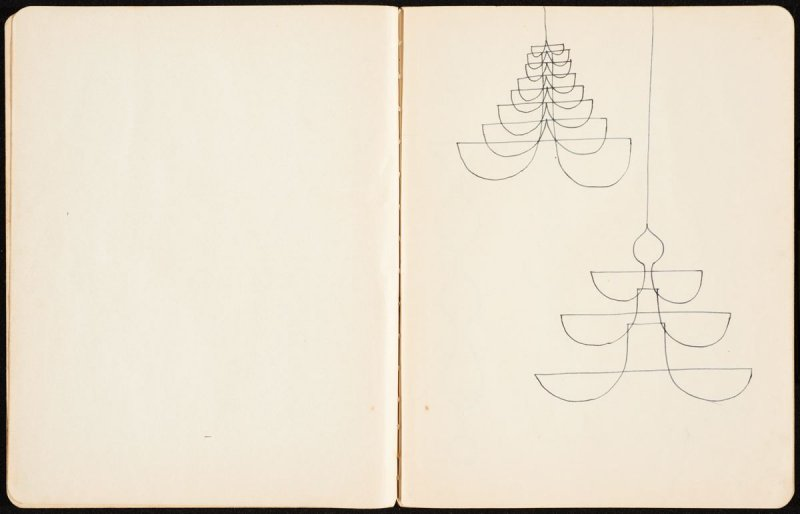 Untitled, sketch of drawings from p.5