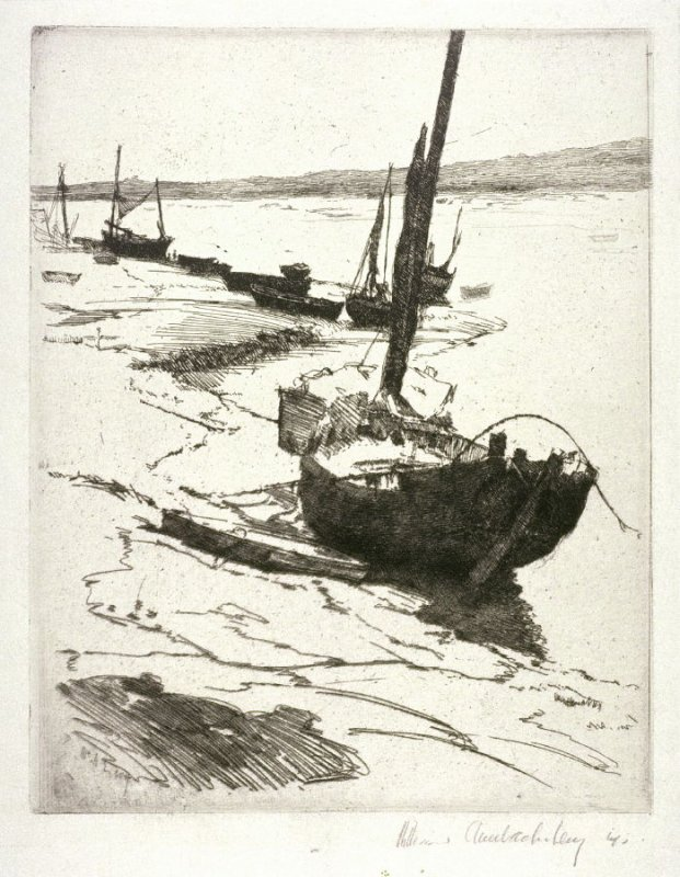 Beached Boats (untitled)