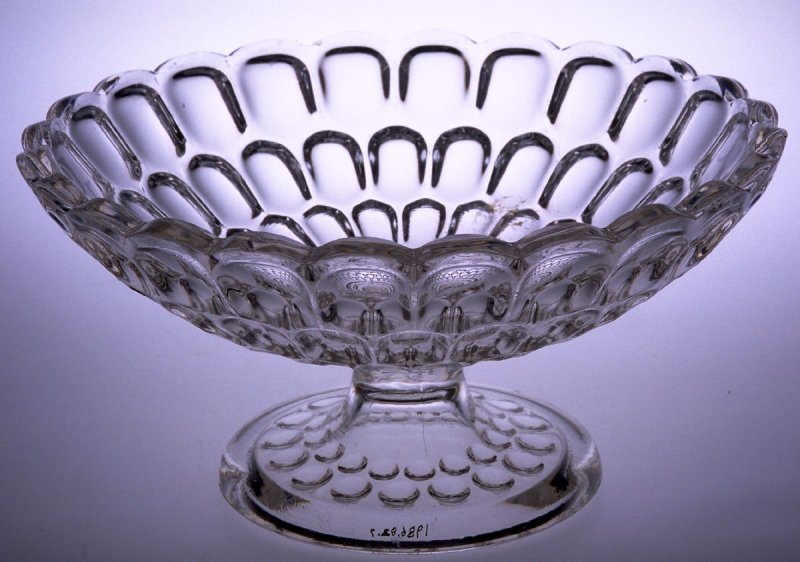 Compote with Argus pattern