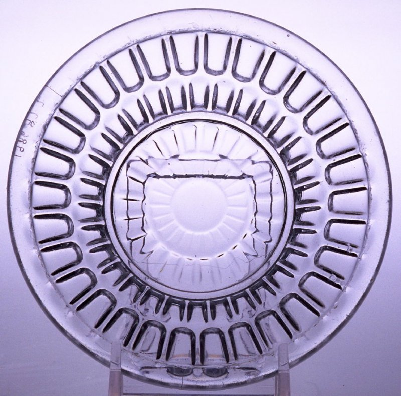 Sauce dish with Argus pattern