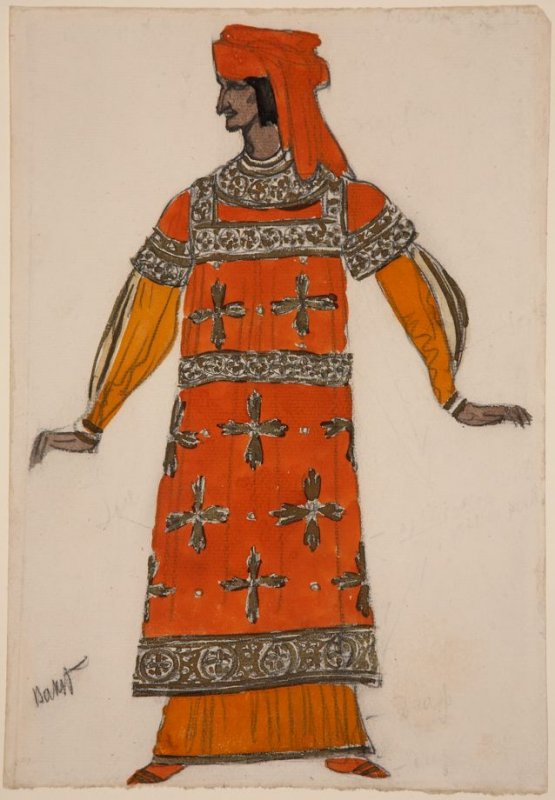 Costume Design for Unidentified Production