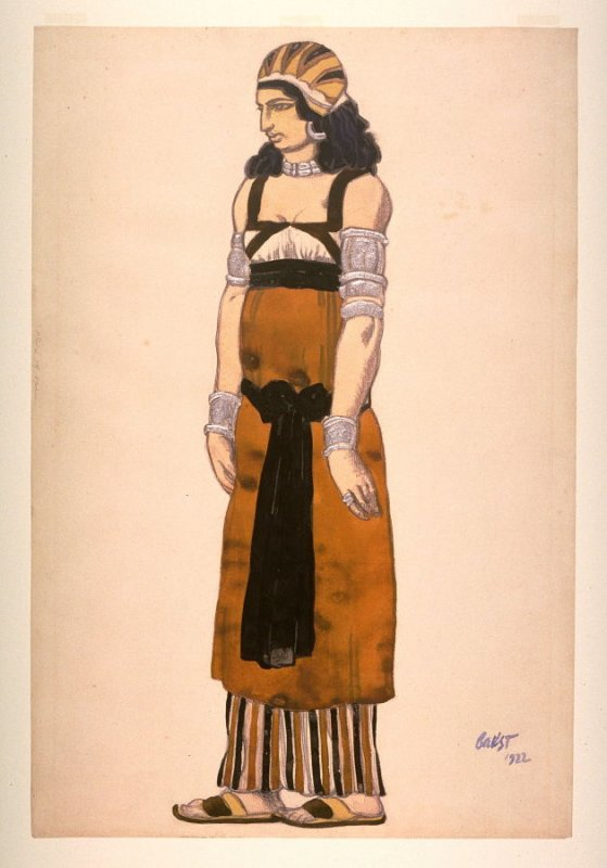 Costume design for Judith in the dramatic comedy Judith