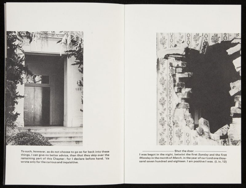 "Second double-page images (""To such, however, as do not choose to go so far back into these things,.""..) in volume 3 of the book The Life and Opinions of Tristram Shandy, Gentleman by Laurence Sterne (San Francisco: Arion Press, 198812"