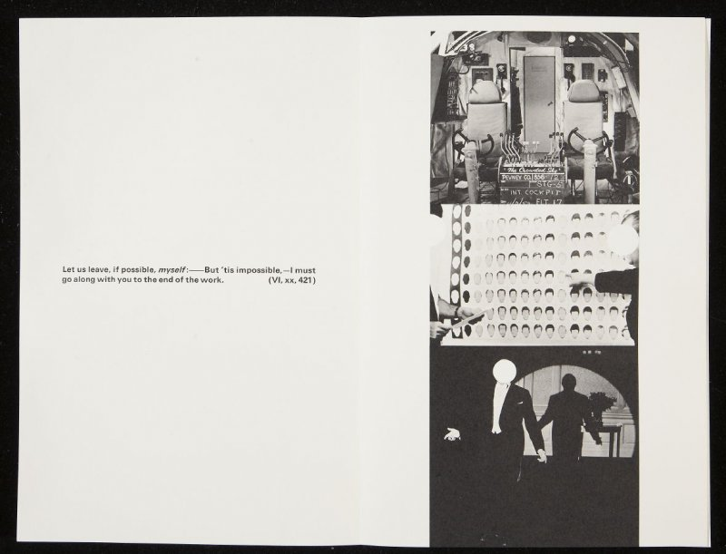 """Twenty-third double-page image ( """"Let leave, if possible, myself:–..."""") in volume 3 of the book The Life and Opinions of Tristram Shandy, Gentleman by Laurence Sterne (San Francisco: Arion Press, 1988)"""