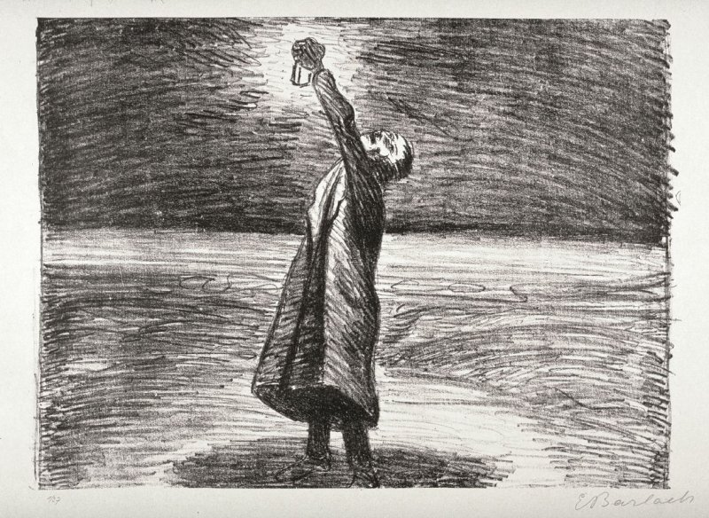 Die Laterne (The Lantern), thirty-second plate from the portfolio volume of Der Arme Vetter (Berllin: Paul Cassirer, 1919)