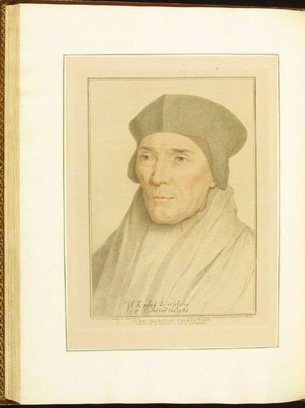The Bishop of Rochester , plate 65 in the book Imitations of Original Drawings by Hans Holbein in the Collection of His Majesty (London: John Chamberlaine, 1792)